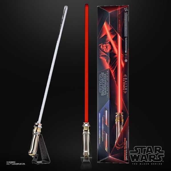 VORBESTELLUNG ! Star Wars Black Series 1/1 Force FX Elite Emperor Palpatine Lichtschwert Replik