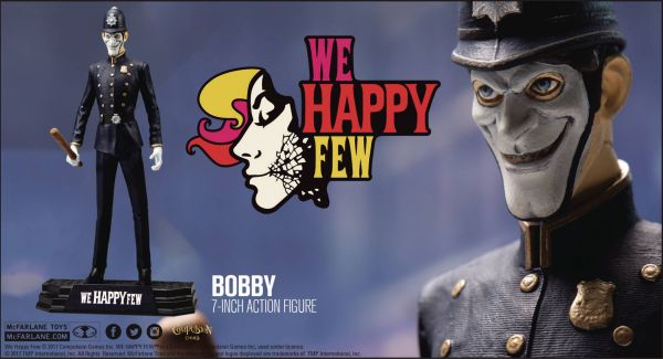 WE HAPPY FEW BOBBY ACTIONFIGUR