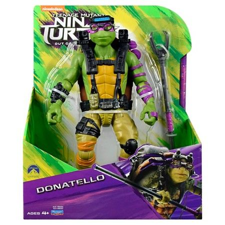 TEENAGE MUTANT NINJA TURTLES MOVIE 2 27,5cm DONATELLO ACTIONFIGUR