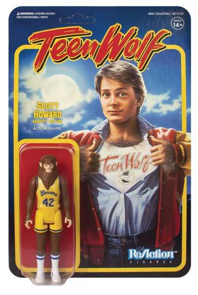 TEEN WOLF 1985 BASKETBALL SCOTT REACTION FIGUR