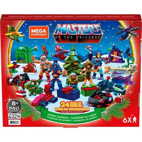 VORBESTELLUNG ! Masters of the Universe Mega Construx Advent Calendar