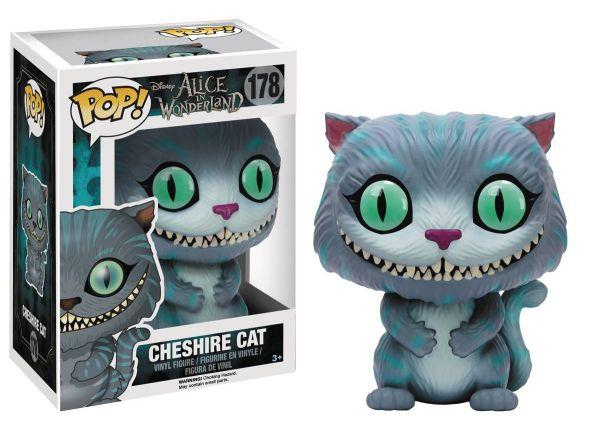 POP ALICE CHESHIRE CAT VINYL FIGUR defekte Verpackung