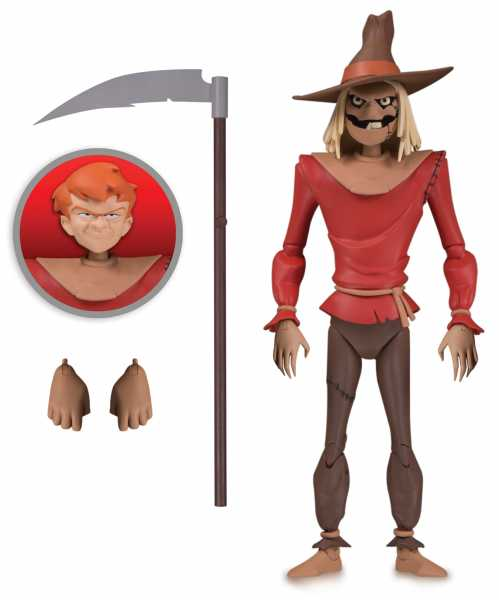 BATMAN ANIMATED SCARECROW ACTIONFIGUR