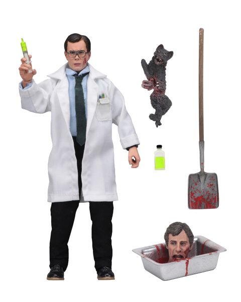 REANIMATOR HERBERT WEST 20 cm RETRO ACTIONFIGUR