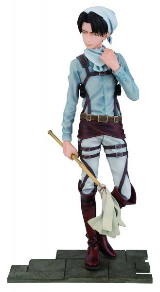 ATTACK ON TITAN DXF LEVI CLEANING VERSION FIGUR
