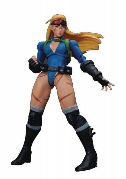 STORM COLLECTIBLES STREET FIGHTER V CAMMY BATTLE COSTUME ACTIONFIGUR