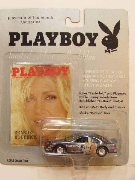 Playmate Of Month Car Series Brande Roderick