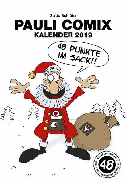 Pauli Comix Kalender 2019