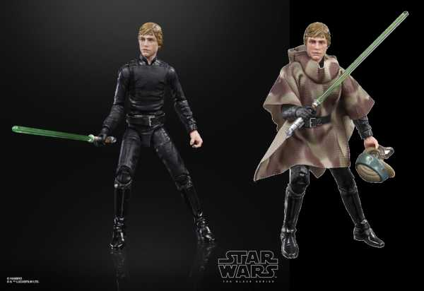 VORBESTELLUNG ! Star Wars The Black Series Luke Skywalker (Endor Battle Poncho) 6 Inch Actionfigur