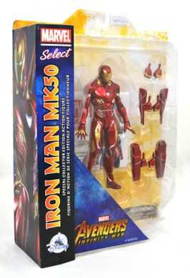 MARVEL SELECT AVENGERS 3 IRON MAN MK50 DISNEY EXCLUSIVE ACTIONFIGUR