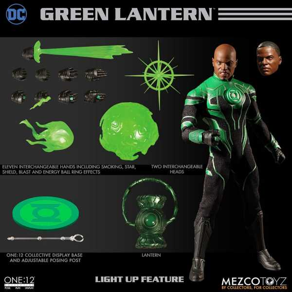 ONE-12 COLLECTIVE DC GREEN LANTERN JOHN STEWART ACTIONFIGUR