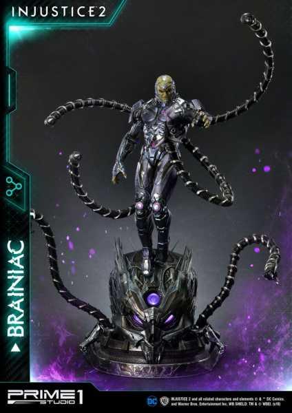 VORBESTELLUNG ! Injustice 2 1/4 Brainiac 75 cm Statue