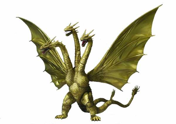 GODZILLA KING GHIDORAH S.H. MONSTER ARTS ACTIONFIGUR SPECIAL COLOUR VERSION
