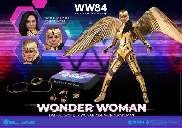 VORBESTELLUNG ! Wonder Woman 1984 DAH-026 Dynamic 8ction Heroes 1/9 Wonder Woman 21 cm Actionfigur