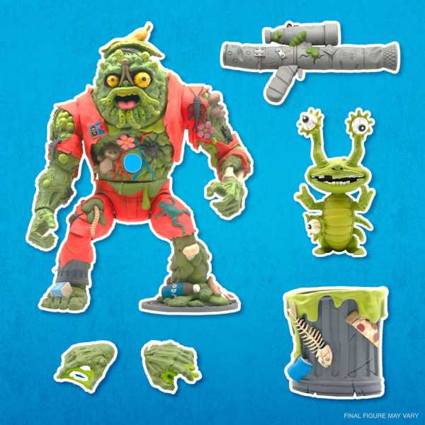 VORBESTELLUNG ! Teenage Mutant Ninja Turtles Ultimates Muckman & Joe Eyeball 18 cm Actionfigur