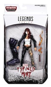 VENOM LEGENDS 15 cm TYPHOID MARY ACTIONFIGUR ohne BAF-Teil