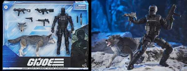 VORBESTELLUNG ! G.I. Joe Classified Series Snake Eyes and Timber: Alpha Commandos Actionfiguren Set