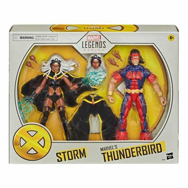 X-Men Marvel Legends Storm & Marvel's Thunderbird 15cm 2-Pack Actionfiguren Set