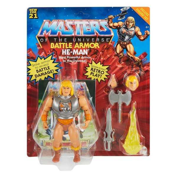 VORBESTELLUNG ! Masters of the Universe Origins Battle Armor He-Man Actionfigur US Version
