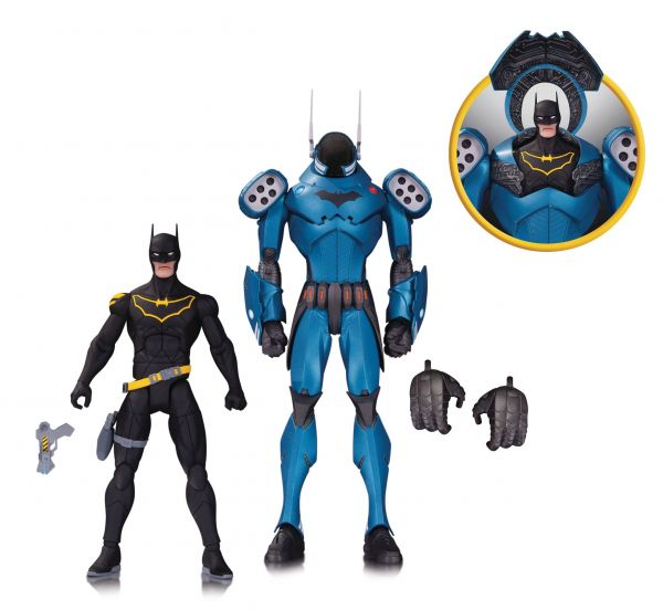 DC COMICS DESIGNER SERIES CAPULLO BATMAN ACTIONFIGUREN 2 PACK