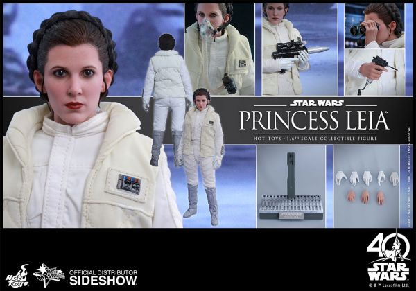 Hot Toys Star Wars Episode V 1/6 Princess Leia 26 cm Actionfigur