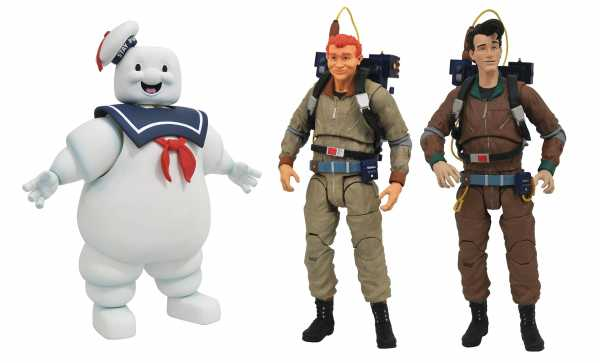 GHOSTBUSTERS SELECT SERIES 10 KOMPLETTE ACTIONFIGUREN-SERIE