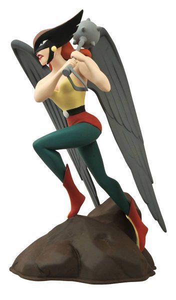 DC GALLERY JLA THE ANIMATED SERIES HAWKGIRL PVC STATUE