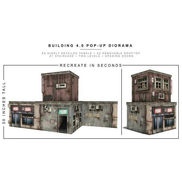 VORBESTELLUNG ! EXTREME SETS BUILDING 4 POP UP 1/12 SCALE DIORAMA