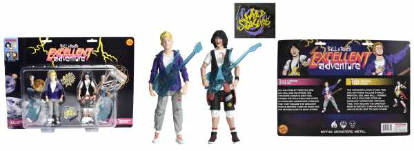 VORBESTELLUNG ! Bill & Ted 'Bill S. Preston Esq.' and 'Ted Theodore Logan' FigBiz Actionfiguren Set