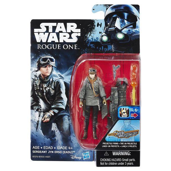 Star Wars Rogue One Sergeant Jyn Erso (Eadu) 10cm Actionfigur