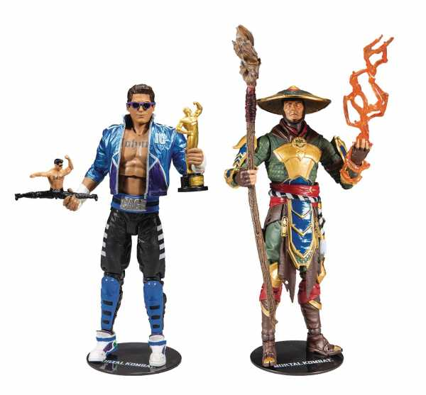 MORTAL KOMBAT WAVE TWO 7 INCH SCALE ACTIONFIGUREN 2-PACK