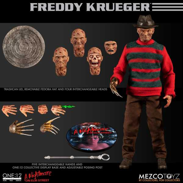 ONE-12 COLLECTIVE NIGHTMARE ON ELM STREET FREDDY KRUEGER ACTIONFIGUR