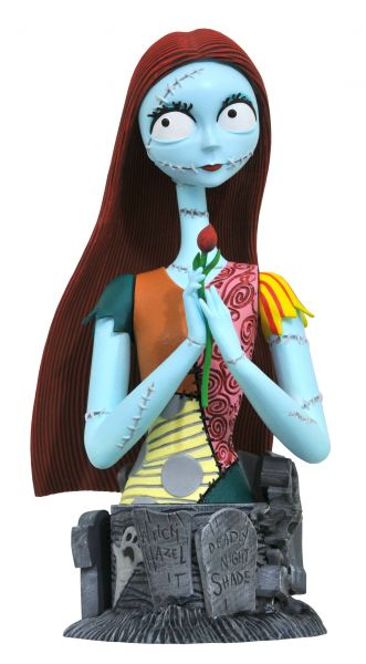 NIGHTMARE BEFORE CHRISTMAS SALLY RESIN BÜSTE