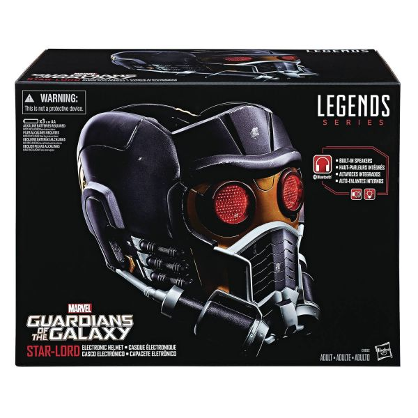 GUARDIANS OF THE GALAXY LEGENDS GEAR STAR LORD HELM