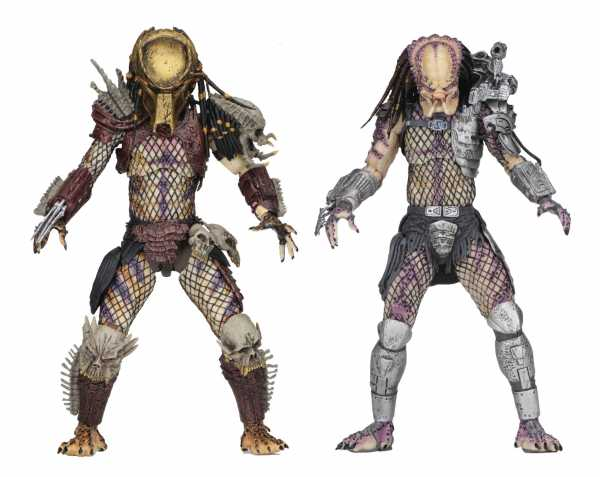 PREDATOR BAD BLOOD & ENFORCER ULTIMATE 17,5 cm ACTIONFIGUREN 2-PACK