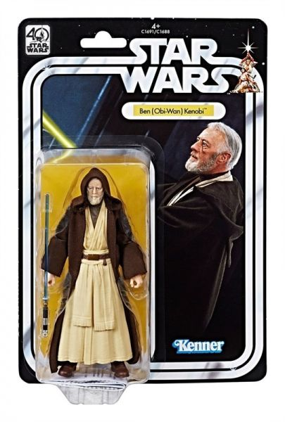 Star Wars The Black Series 40th Anniversary Obi-Wan Kenobi 15cm Actionfigur