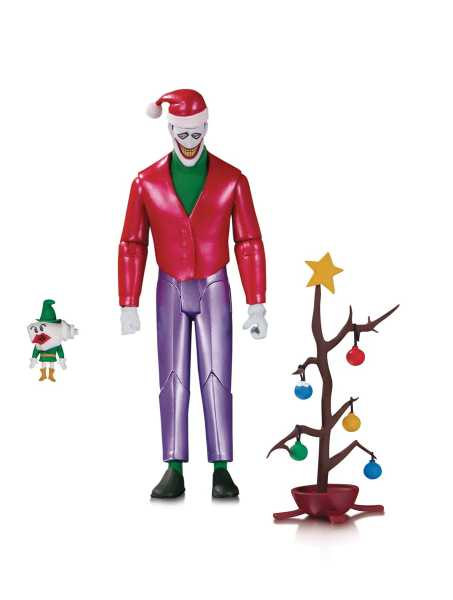 VORBESTELLUNG ! Batman: The Animated Series Christmas with the Joker Actionfigur