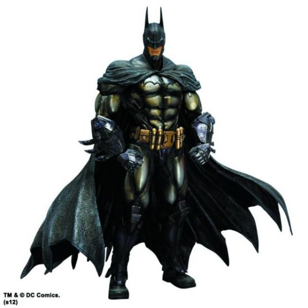 BATMAN ARKHAM ASYLUM PLAY ARTS KAI ARMORED BATMAN ACTIONFIGUR