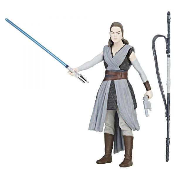 Star Wars Force Link Rey (Jedi Training) Action Figure