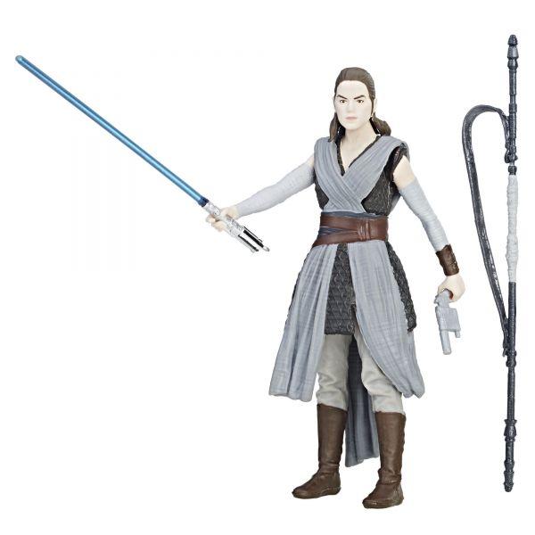 Star Wars Force Link Rey (Jedi Training) Action Figure
