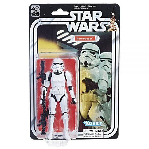 Star Wars The Black Series 40th Anniversary Stormtrooper Actionfigur