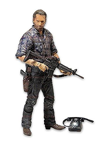 WALKING DEAD TV SERIES 7 WOODBURY ASSAULT RICK GRIMES ACTIONFIGUR