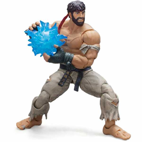 STORM COLLECTIBLES STREET FIGHTER V HOT RYU 1/12 ACTIONFIGUR SDCC 2017 EXCLUSIVE