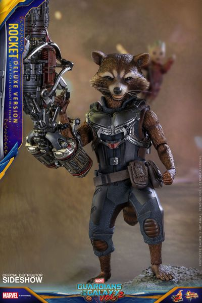 Hot Toys Guardians of the Galaxy Vol. 2 Rocket Deluxe Version 16 cm Actionfigur