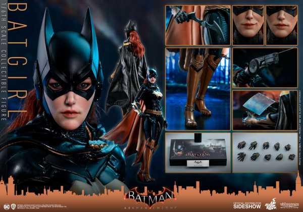 VORBESTELLUNG ! Batman Arkham Knight Videogame Masterpiece 1/6 Batgirl 30 cm Actionfigur