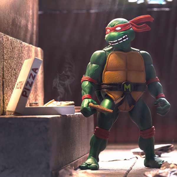 VORBESTELLUNG ! Teenage Mutant Ninja Turtles Ultimates Michelangelo 7 Inch Actionfigur