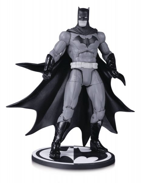 BATMAN BLACK AND WHITE ACTIONFIGUR BY GREG CAPULLO