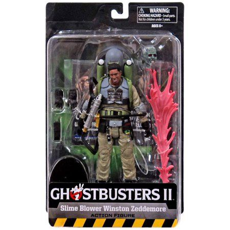 GHOSTBUSTERS 2 SELECT SERIES 7 SLIME-BLOWER WINSTON ZEDDEMORE TRU EXCLUSIVE ACTIONFIGUR