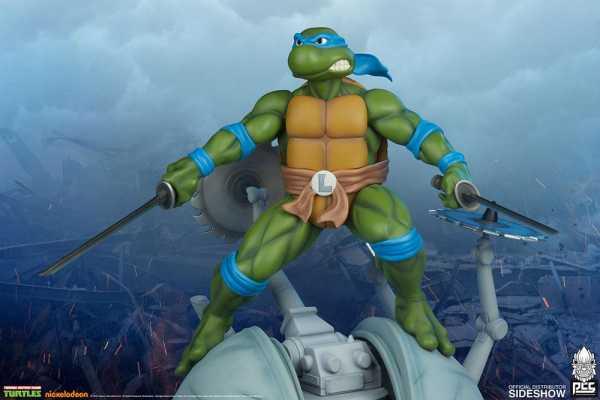 VORBESTELLUNG ! Teenage Mutant Ninja Turtles 1/4 Leonardo 47 cm Statue