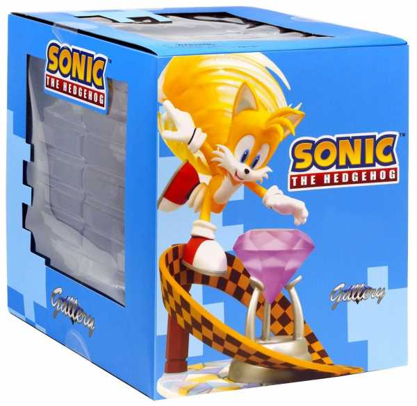 SONIC THE HEDGEHOG GALLERY TAILS EXCLUSIVE PVC STATUE